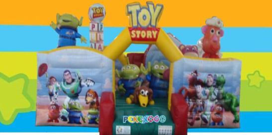 Hinchable Castillo Toy Story