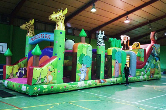 Hinchable Pista Americana Circus Park