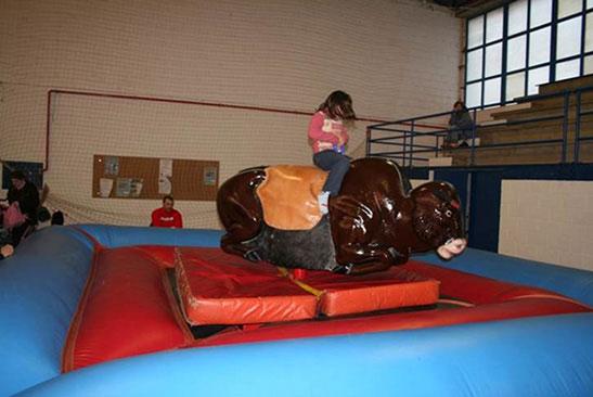 Hinchable Toro Mecánico